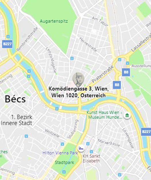 Komödiengasse 3 | 1020 Wien